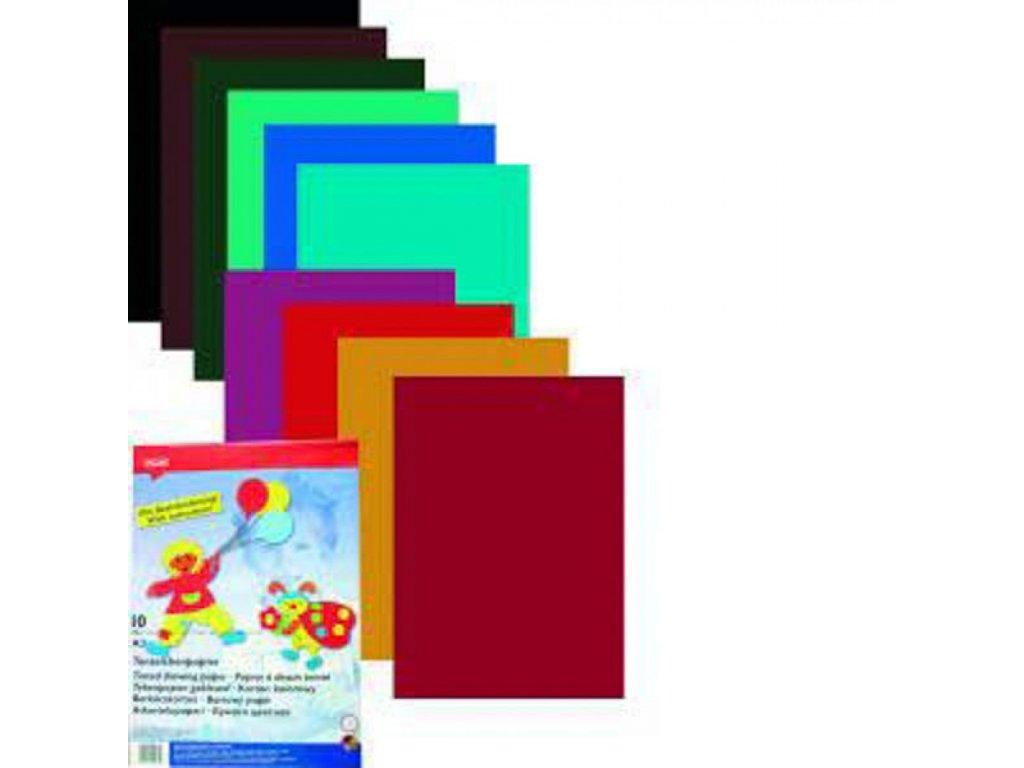 Papier A3 mix 10ks farebné