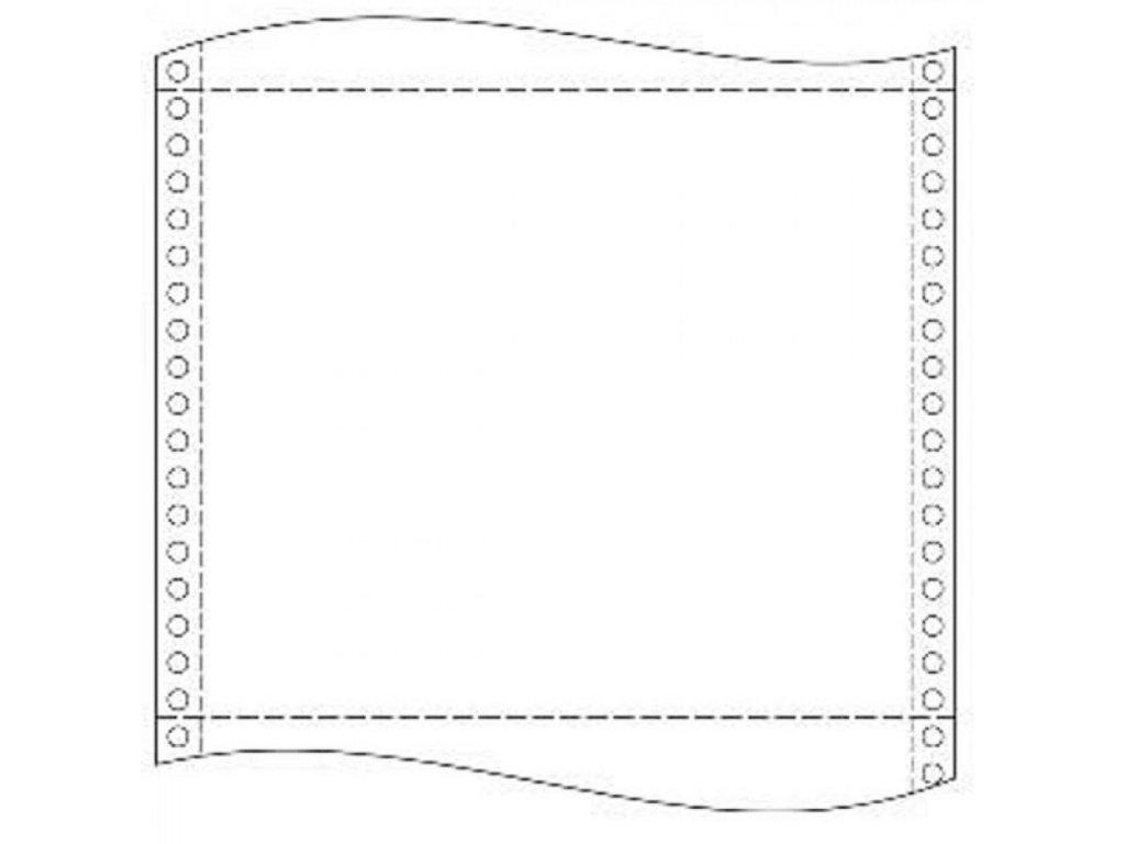 Tabelačný papier 23x12 1+0 2000zl.