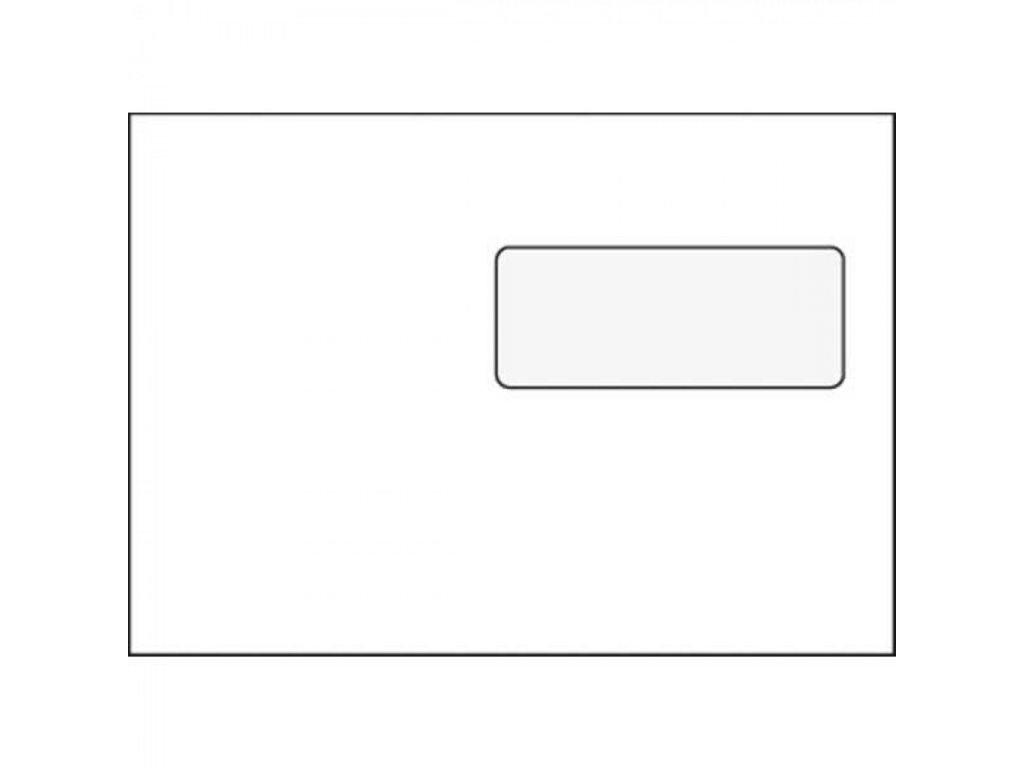 Obálky C5 samolepiace s okienkom OBC5O
