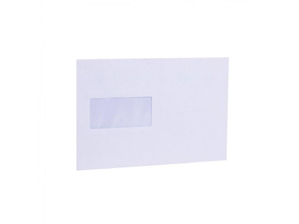 Obálky C5 samolepiace s okienkom vľavo