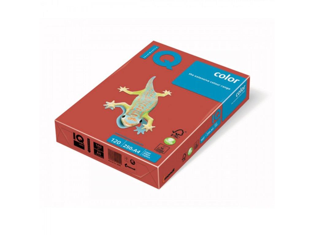 Kopírovací papier A4 120g Motif IQ korálovočervený CO44 C5 X412MC5