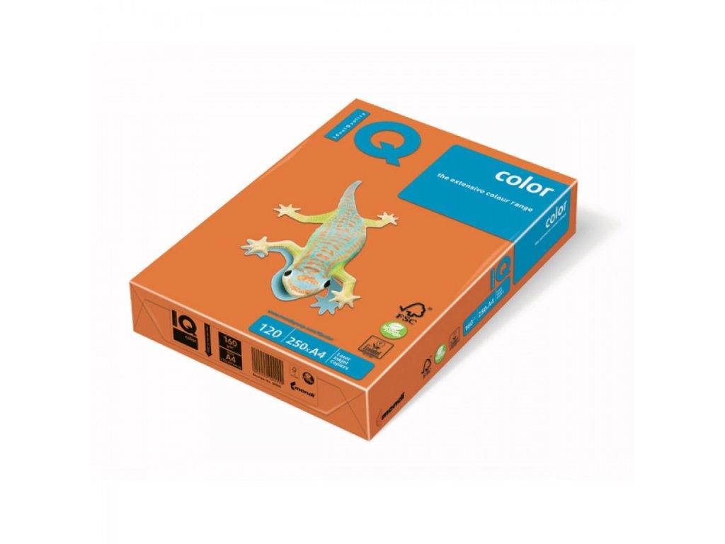 Kopírovací papier A4 120g Motif IQ pomarančový OR43 C4