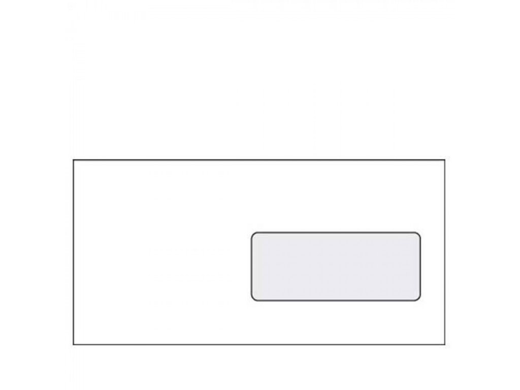 Obálky DL samolepiace s okienkom OBDLO