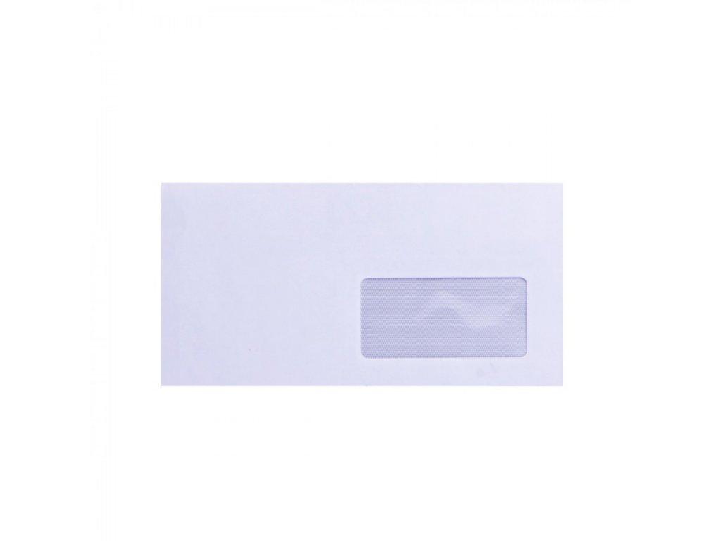 Obálky DL samolepiace, okienko 90x45, vnútorná potlač