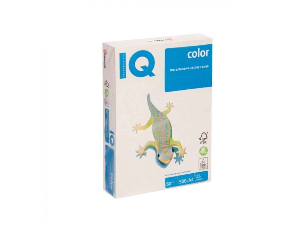 Kopírovací papier A4 80g Motif IQ vanilkový BE66 A1 X408MA1