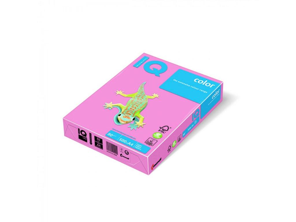 Kopírovací papier A4 80g Motif IQ ružový PI25 A6