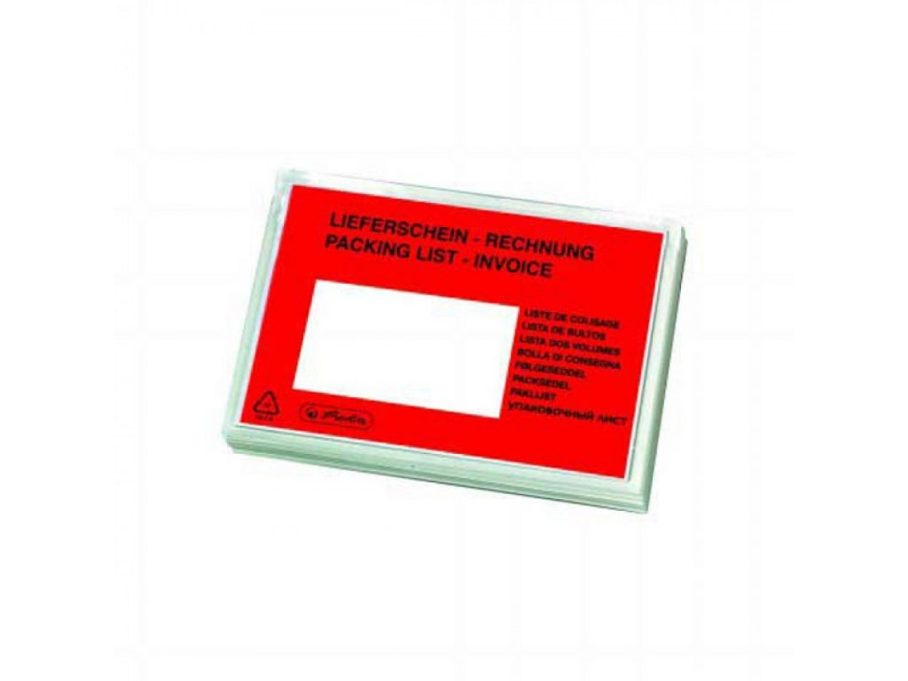 Obálky na sprievodky C5 Herlitz (100 ks) OBSHC5