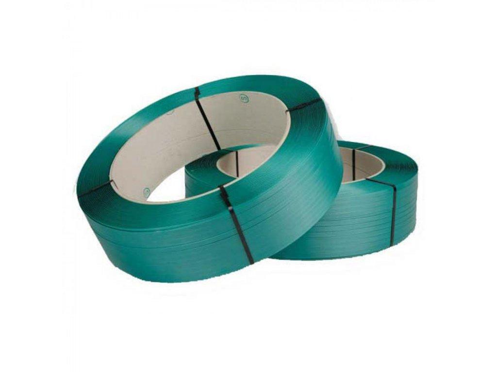 Viazacia páska PET 15,5m 0,90mm 1400m 406 zelená