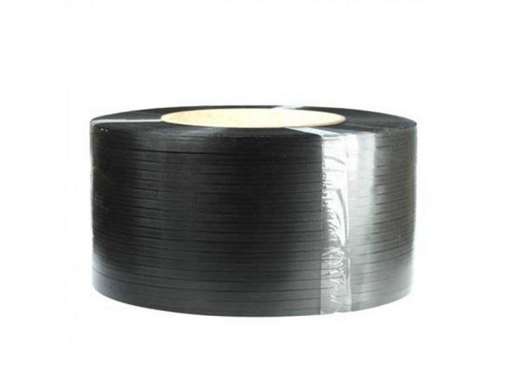 Viazacia páska PP 12mm 0,70mm 2000m 406 čierna,194kg VP1180506