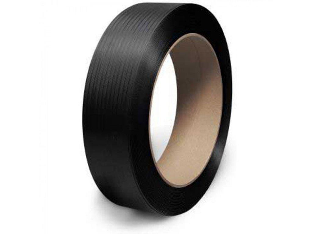 Viazacia páska PP 12mmx0,5 2800 406d čierna