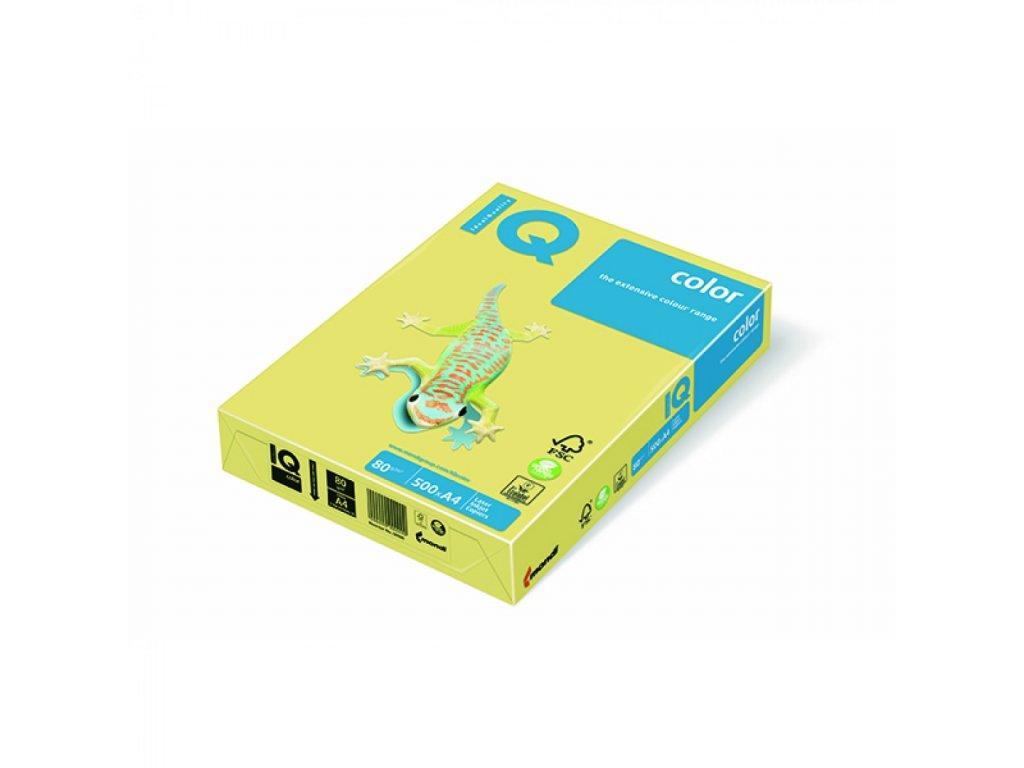 Kopírovací papier A4 80g IQ citrónový ZG34 B1