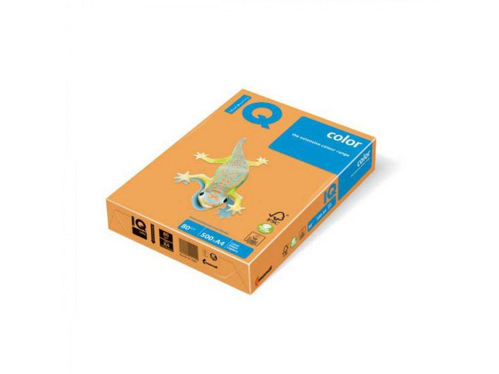 Kopírovací papier A4 80g IQ color neónovo oranžový NEOOR