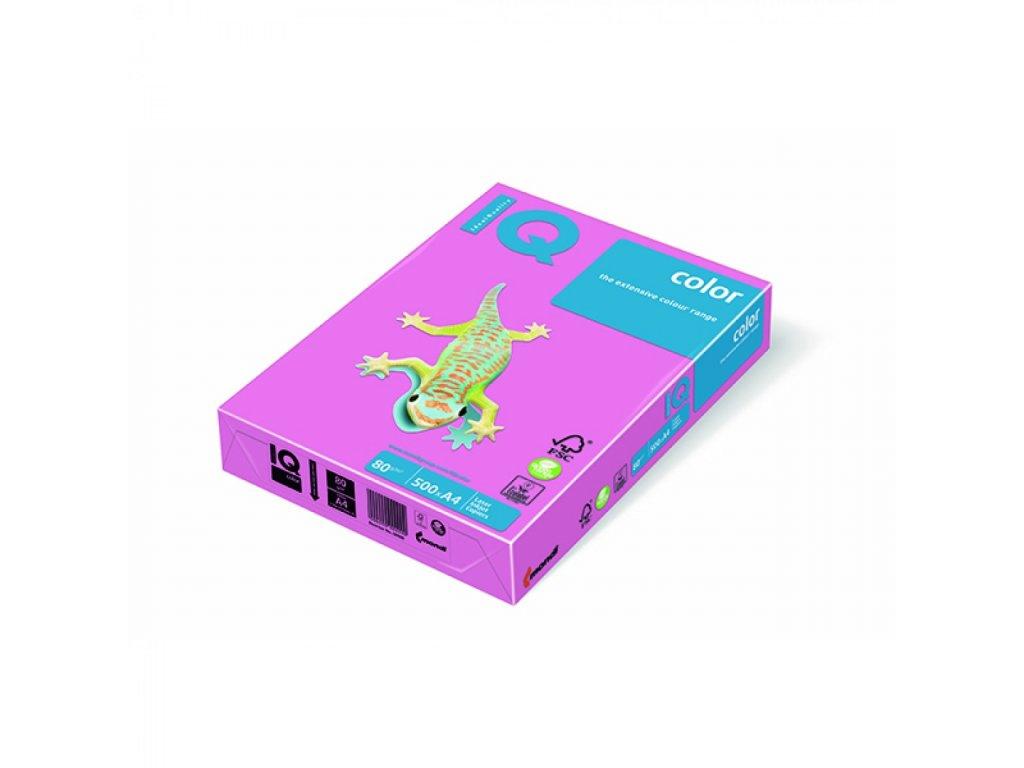 Kopírovací papier A4 80g IQ color neónovo ružový NEOPI