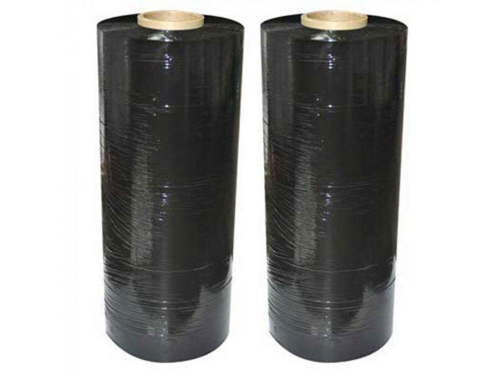 Fólia streč. strojná 23mic 50cm 150% čierna
