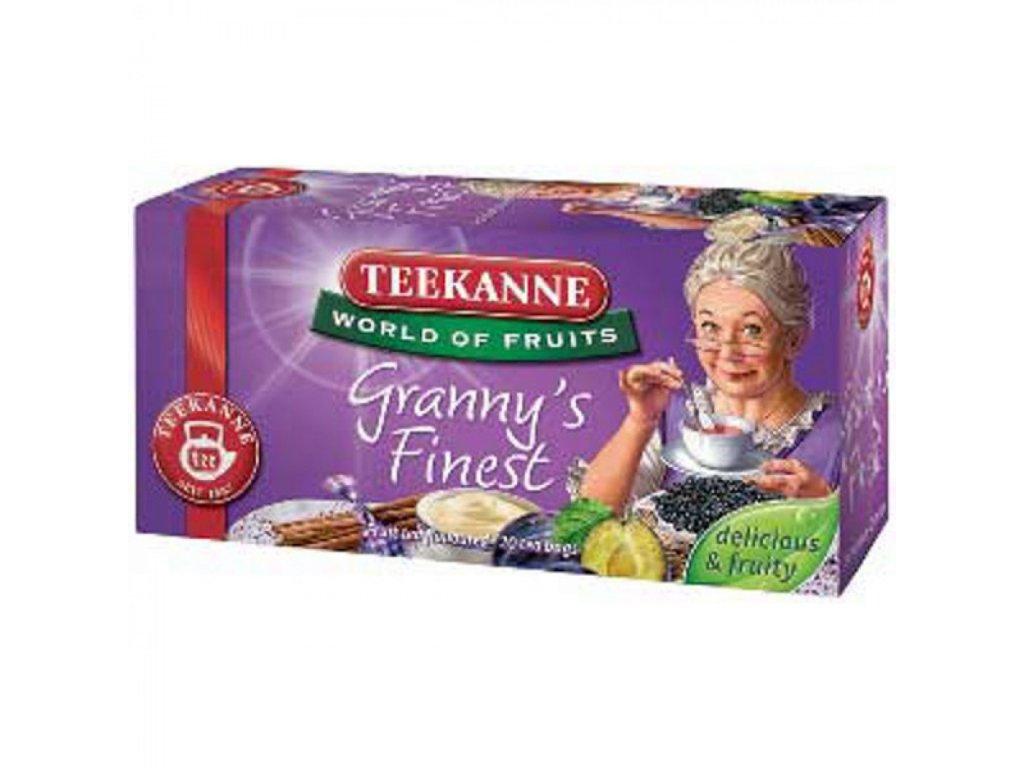 Čaj TEEKANNE Ovocný čaj Granny s finest 50g