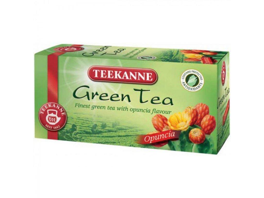 Čaj TEEKANNE Zelený Opuncia 35g