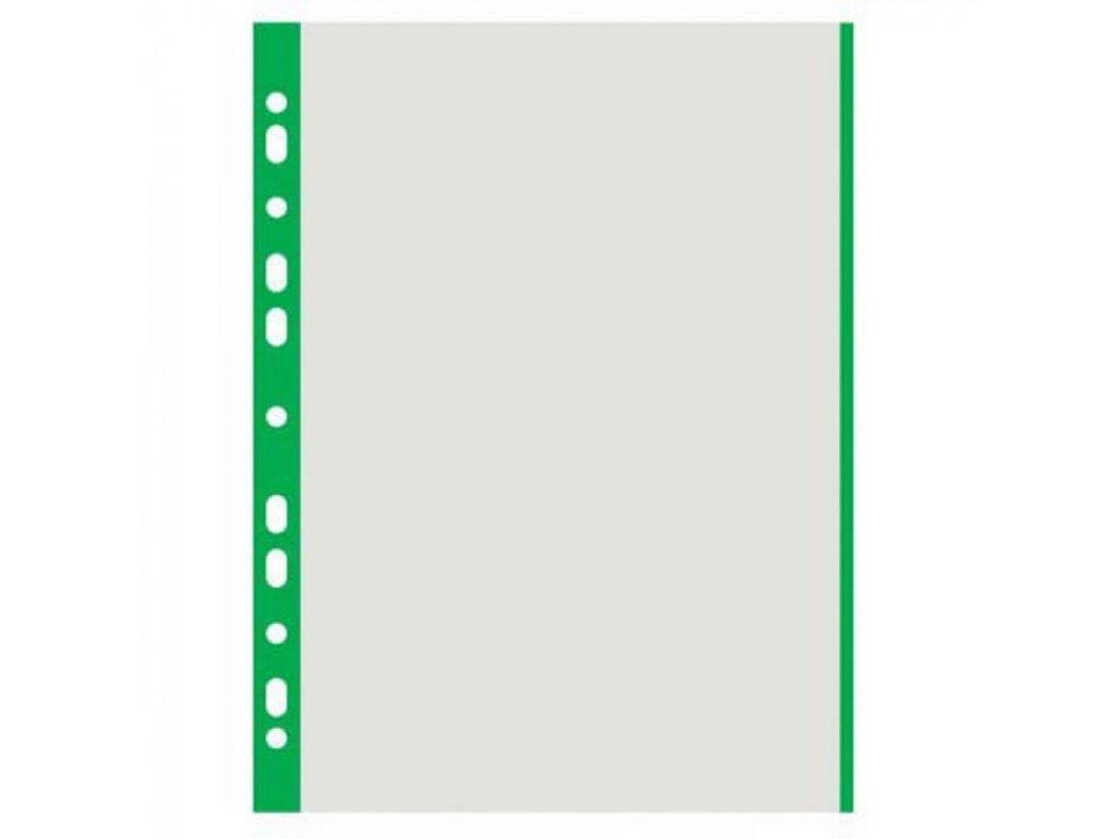 Euroobal A4 40 mic so zeleným okrajom