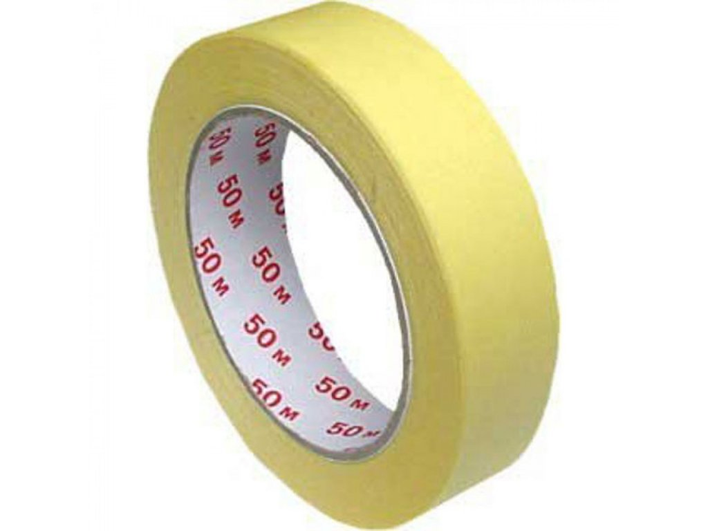 Lepiaca páska 25x50m krepová