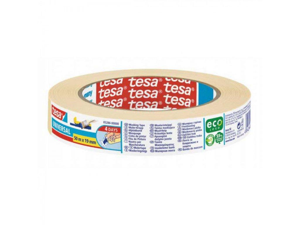 Maskovacia páska TESA Universal 19x50m Eco logo