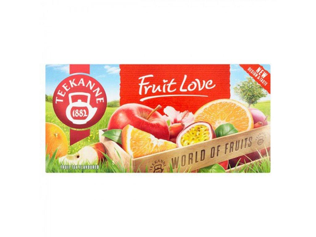 Čaj TEEKANNE Ovocný Fruit Love