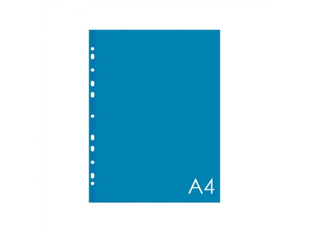 Euroobal A4 60 mic. 25ks modrý