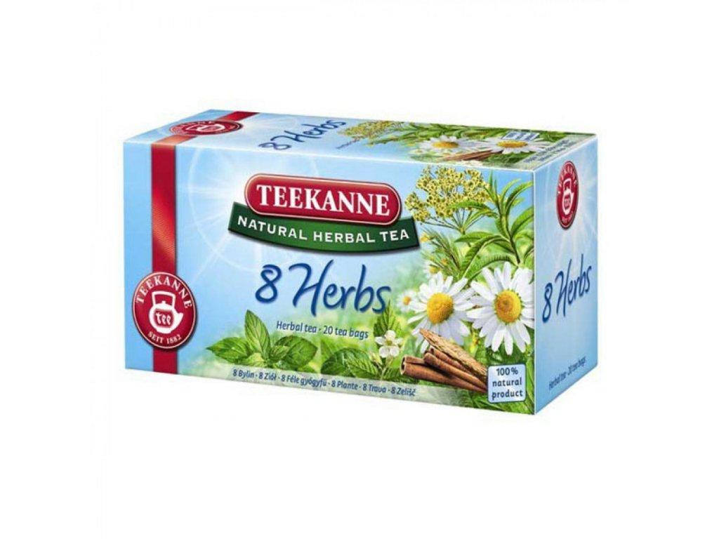 Čaj TEEKANNE Bylinný 8 Herbs 40g