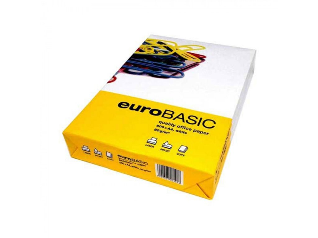 Kopírovací papier A4 80g Eurobasic