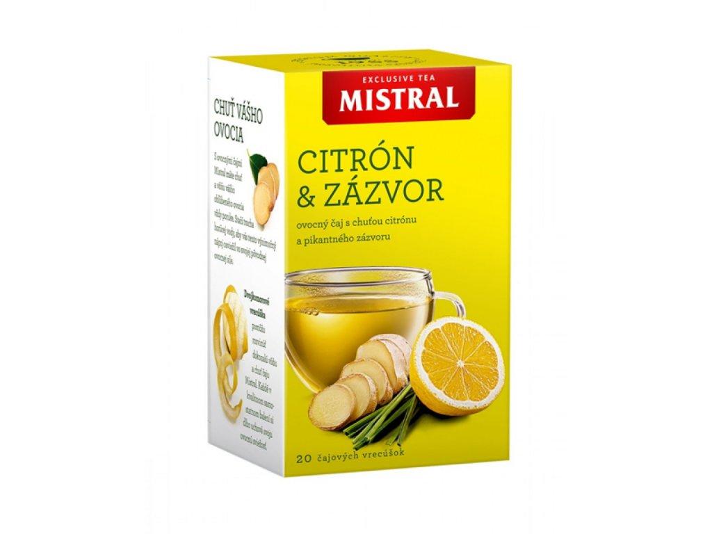 Čaj BOP Mistral citrón a zázvor 40 g