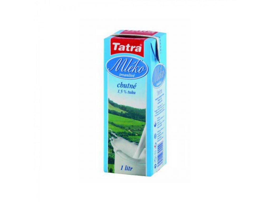Mlieko Tatra 1l polotučné 1,5