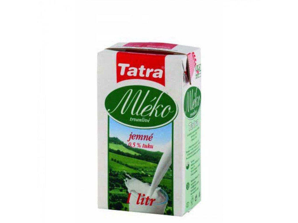 Mlieko Tatra 1l nízkotučné 0,5