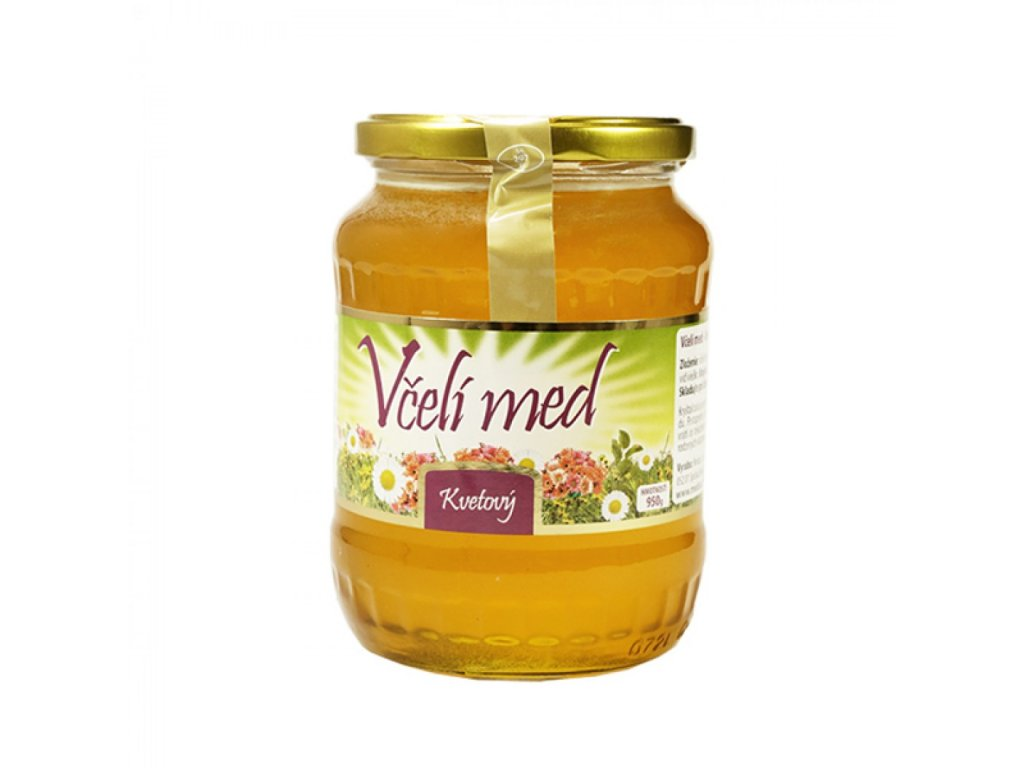 Med včelí lúčny 900g