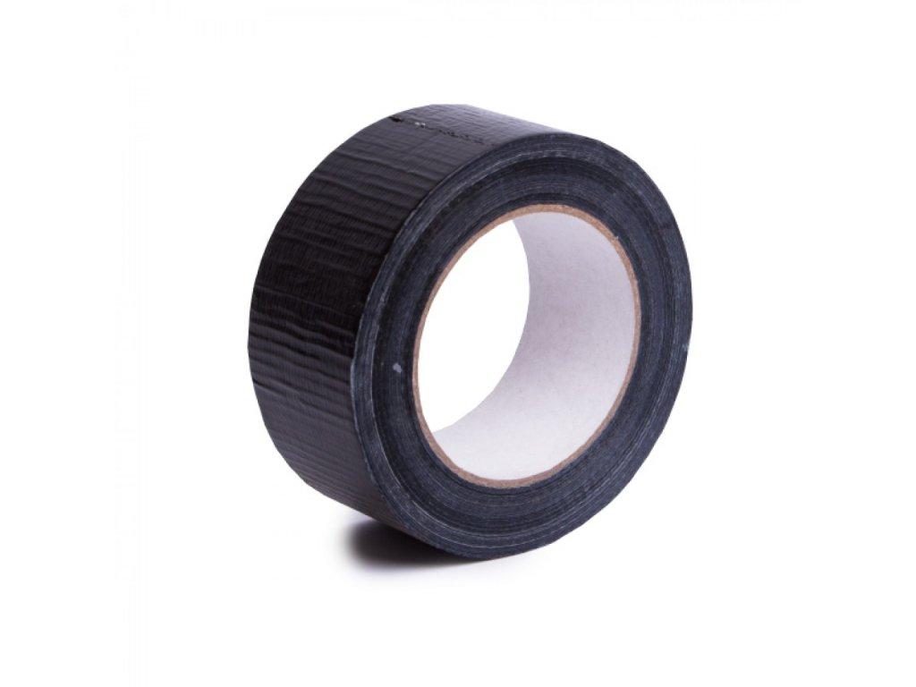 Lepiaca páska 48x50m čierna s tkaninou TYP 518
