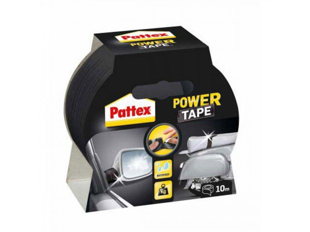 Lepiaca páska Pattex Power Tape 50mmx10 m čierna