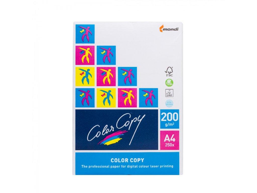 Papier A4 Color Copy COATED 200g 250ks X420CCT