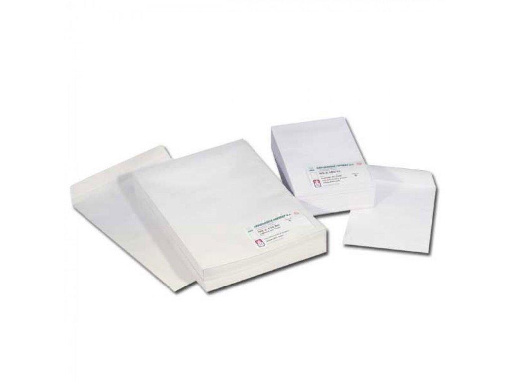 Obálky B4 tašky recykel, samolepiace, krycia páska 50 fólia