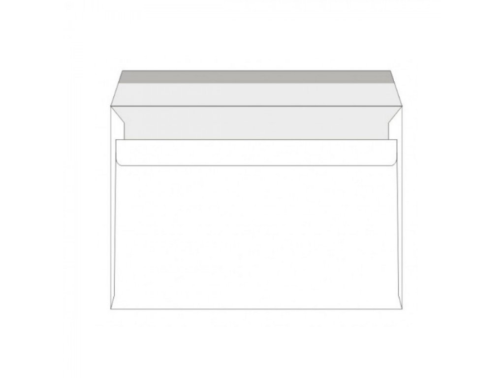 Obálky C5 samolepiace 100 fólia