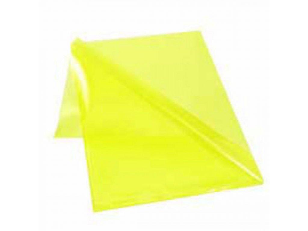 Obal L na dokumenty lesklý 150mic žltý