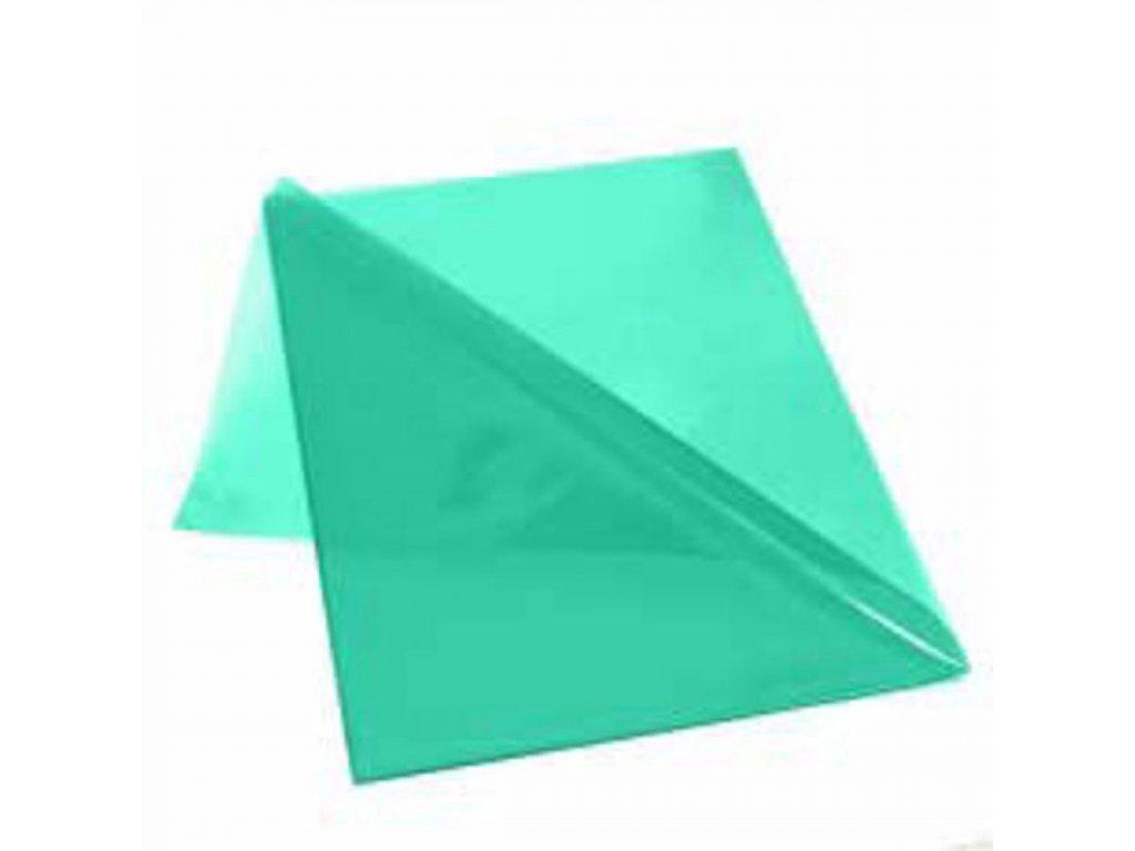 Obal L na dokumenty lesklý 150mic zelený
