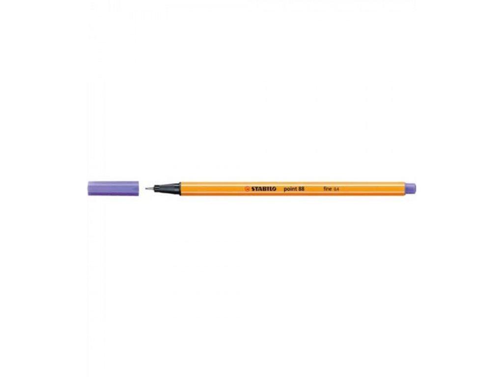 Liner atramentový STABILO point 88 fialový 88 55