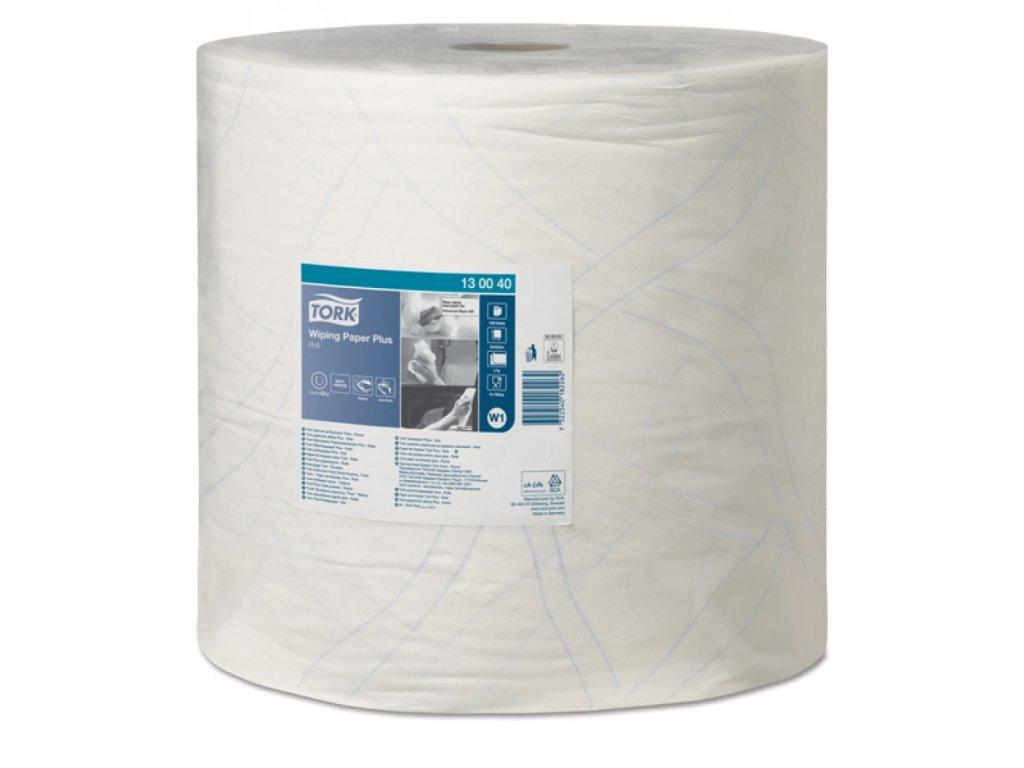 Utierka Tork Plus papierová, 2 vrstvová, biela W1