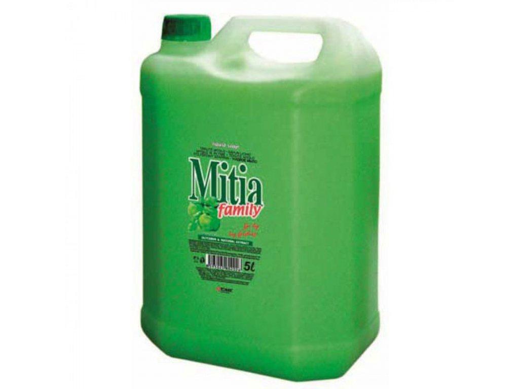 Tekuté mydlo Mitia 5l Jablko