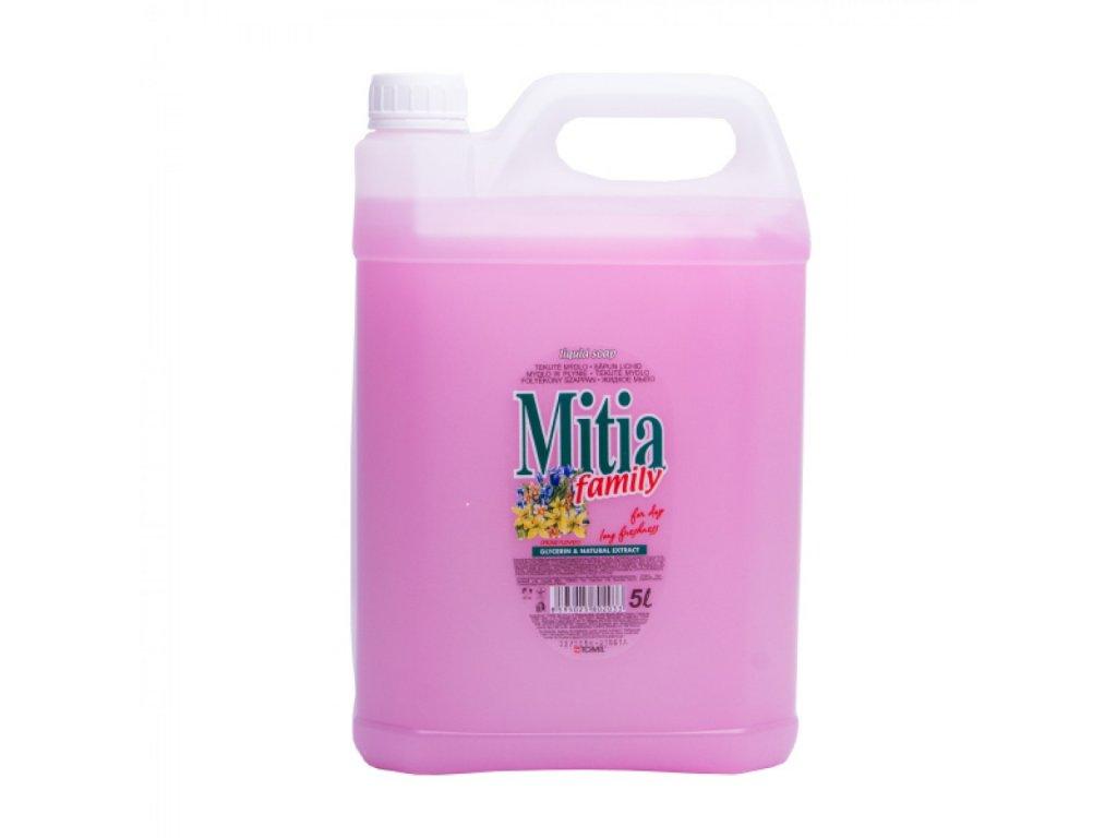 Tekuté mydlo Mitia 5l Jarné kvety