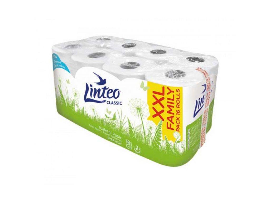 TP Linteo Classic 2 vrstvový, 16ks biely