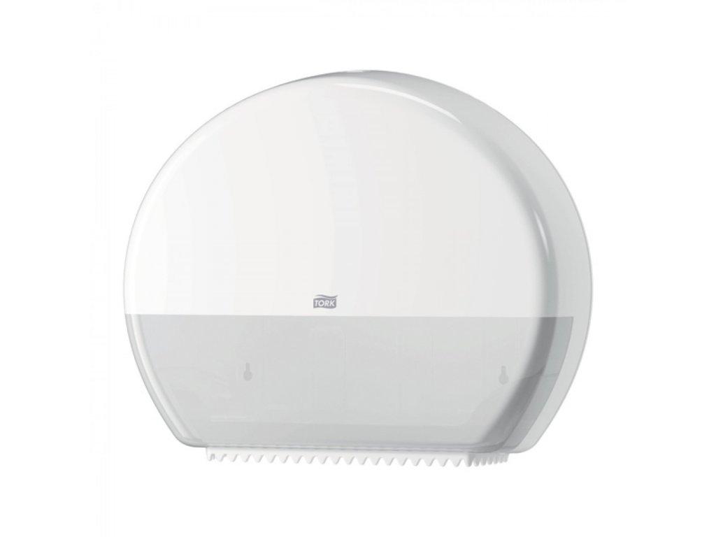 Zásobník Tork Jumbo na toaletný papier, role, biely (T1)