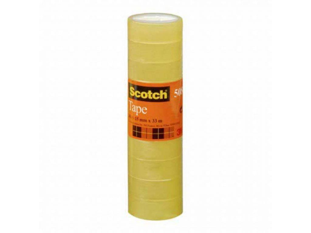 Lepiaca páska Scotch 508 15x33m 10 ks