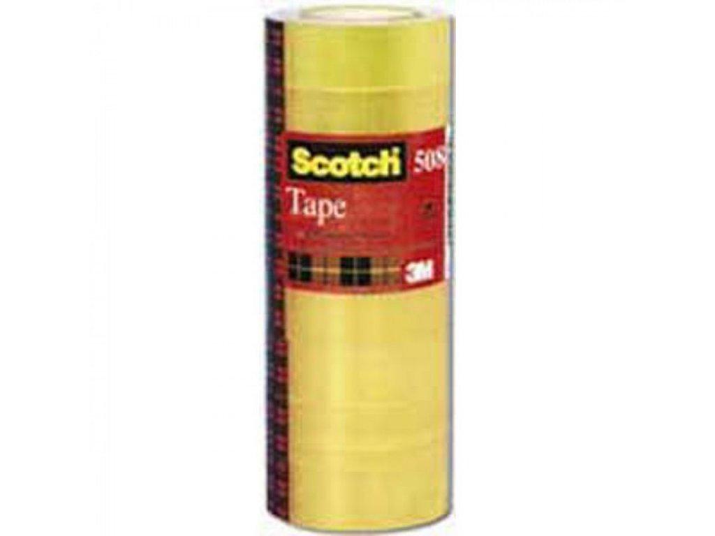 Lepiaca páska Scotch 508 19x33m 8 ks