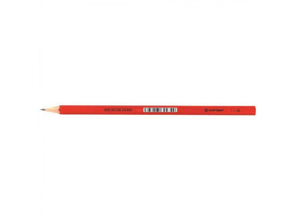 Ceruzka Centropen 9510 č.1 4B grafitová