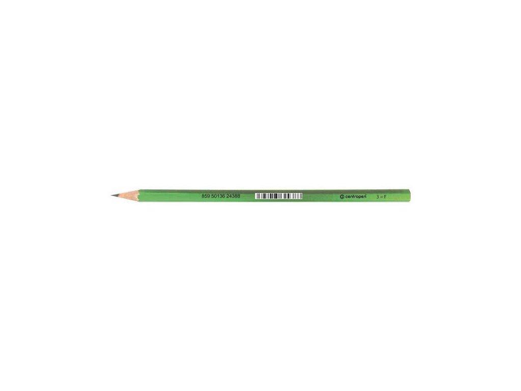 Ceruzka Centropen 9510 č.3 F grafitová