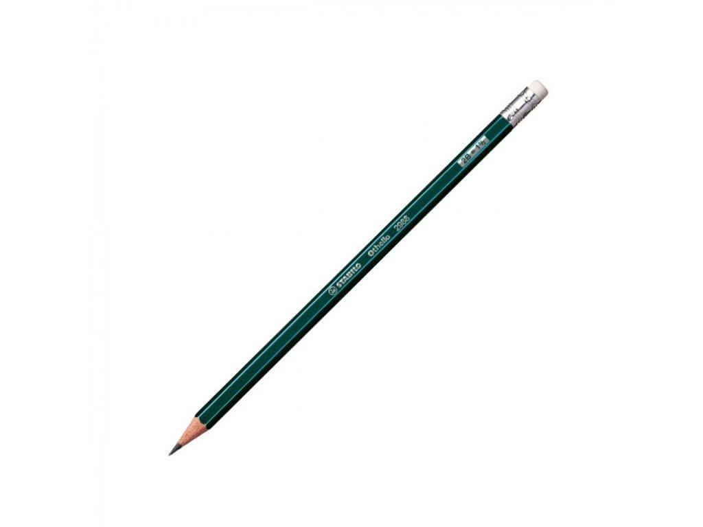 Ceruzka grafitová STABILO Othello s gumou 2B