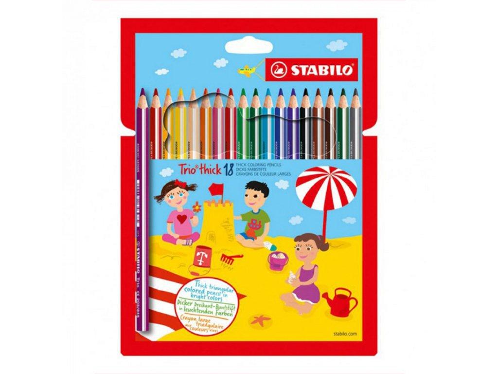 Farbička STABILO color farbičky 18 ks vrátane neon Karton Puzdro